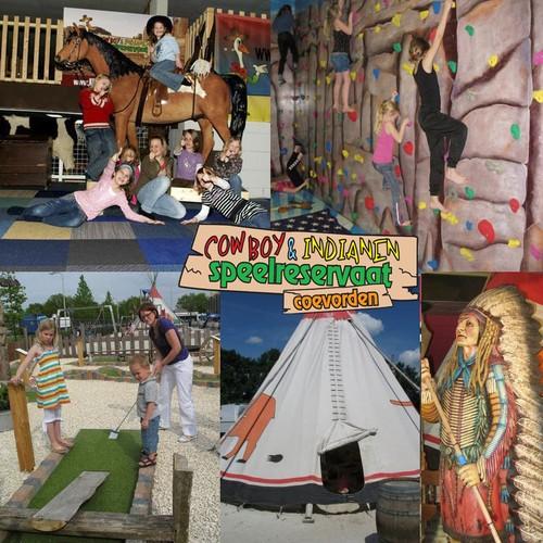 Cowboy en Indianen Speelreservaat